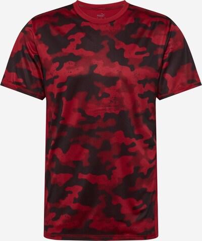 PUMA Sportshirt in knallrot / schwarz, Produktansicht