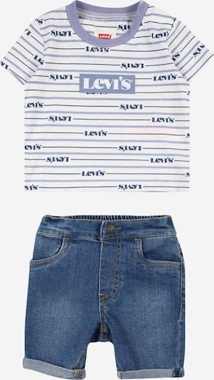 LEVI'S Set in rauchblau / blue denim / weiß, Produktansicht