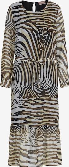 Cartoon Kleid in beige / schwarz, Produktansicht
