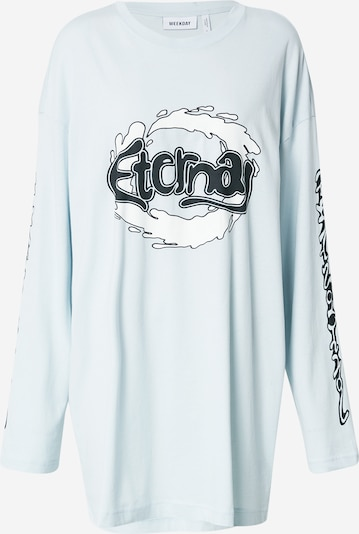 WEEKDAY Shirt 'Chrystanthe' in Blue / Black / White, Item view