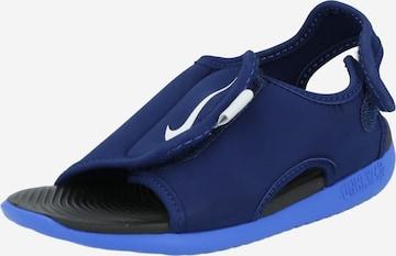 NIKE Sandaal 'Sunray Adjust 5 V2', värv sinine