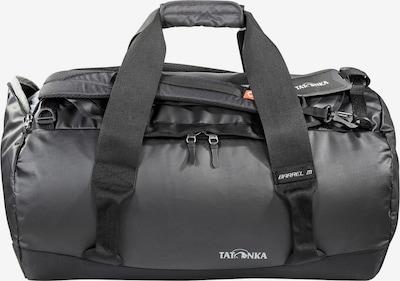 TATONKA Reisetasche 'Barrel ' in hellgrau / schwarz / weiß, Produktansicht