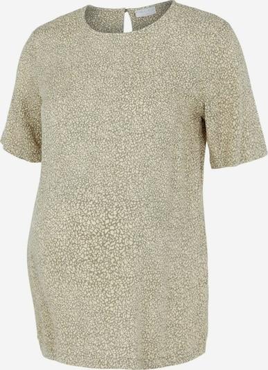 Pieces Maternity Shirt 'Nya' in stone / weiß, Produktansicht