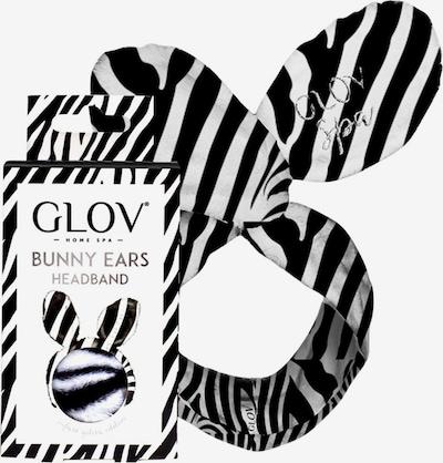GLOV Haarband 'Bunny Ears Zebra' in schwarz / weiß, Produktansicht