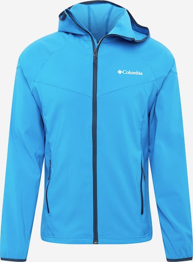 COLUMBIA Outdoorová bunda 'Heather Canyon' - noční modrá / světlemodrá / bílá, Produkt