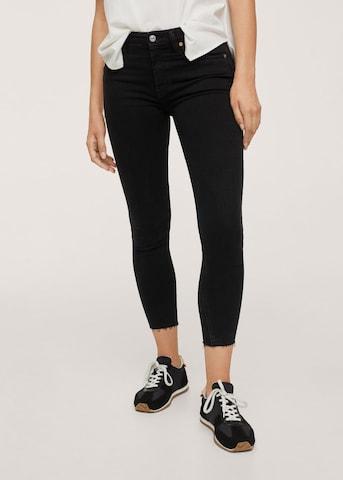 MANGO Jeans 'Isa' in Zwart