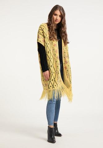 IZIA Knit Cardigan in Yellow
