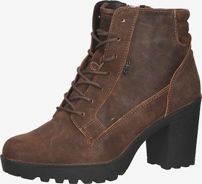 IGI&CO Lace-Up Ankle Boots in Dark brown, Item view