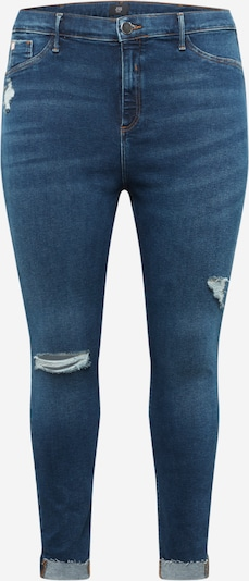 River Island Plus Jeans 'Dark Molly' in blue denim, Produktansicht