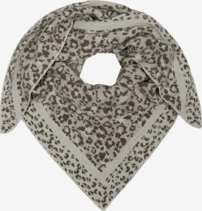 Zwillingsherz Masque en tissu en kaki / blanc, Vue avec produit