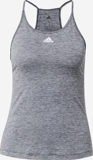 ADIDAS PERFORMANCE Sportski top u crna / bijela, Pregled proizvoda