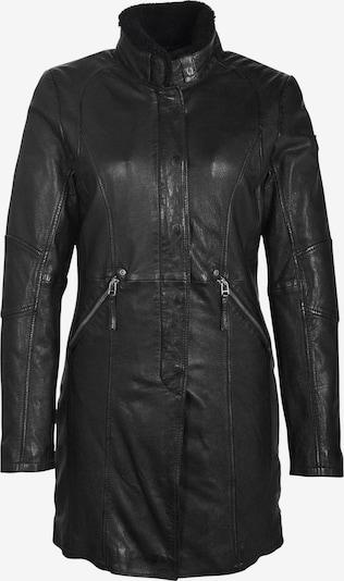Gipsy Ledermantel 'Silah LEGV' in schwarz, Produktansicht