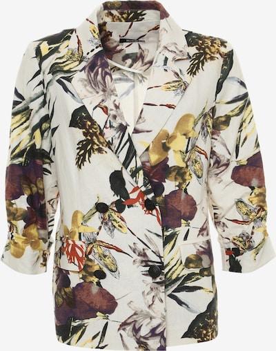 Madam-T Blazers 'SILVANA' in de kleur Wit, Productweergave