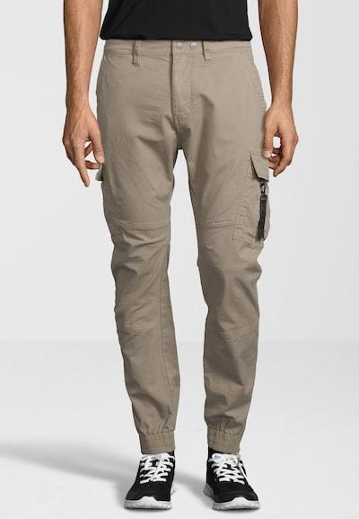REPLAY Hose im Cargo-Stil in beige / schwarz, Produktansicht
