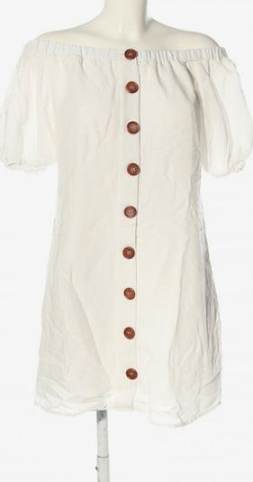 Sabo schulterfreies Kleid in M in wollweiß, Produktansicht