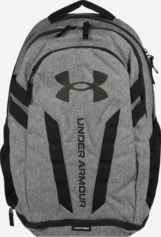 UNDER ARMOUR Sports Backpack 'Hustle' in Grey