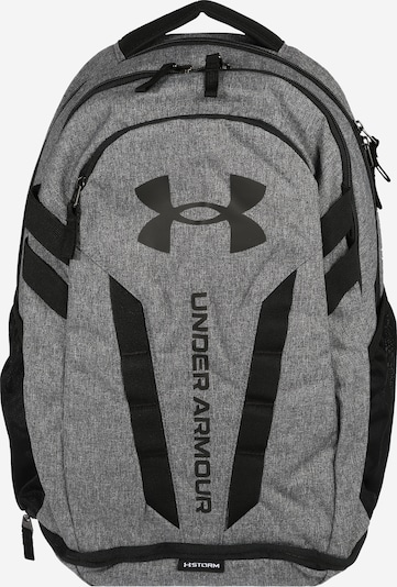 UNDER ARMOUR Sac à dos de sport 'Hustle' en gris / noir, Vue avec produit