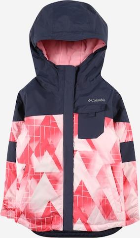 COLUMBIA Toiminnallinen takki 'Mighty Mogul' värissä vaaleanpunainen
