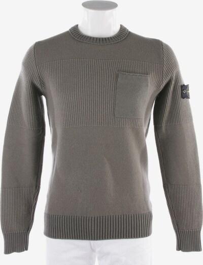 Stone Island Sweatshirt / Sweatjacke in S in khaki, Produktansicht