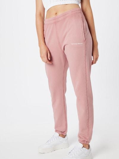 REPLAY Hose in rosé / weiß, Modelansicht