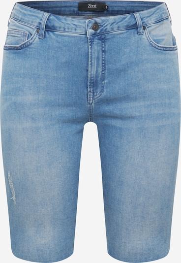 Zizzi Shorts 'ZINE' in blue denim, Produktansicht
