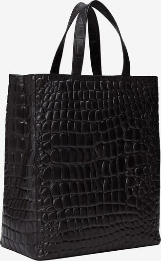 Liebeskind Berlin Shopper 'Croco' in schwarz, Produktansicht