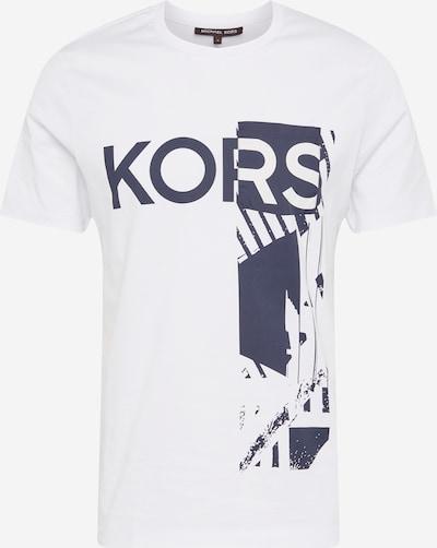 Michael Kors T-Shirt en bleu-gris / blanc, Vue avec produit