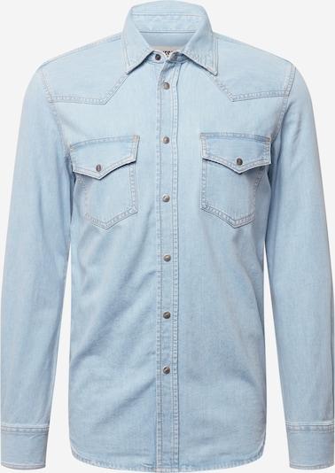Camicia 'EAST' DIESEL di colore blu chiaro: Vista frontale