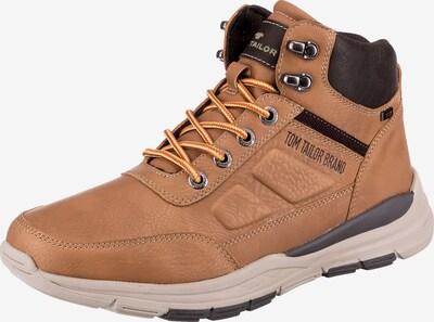 TOM TAILOR Sneaker in braun / schwarz, Produktansicht