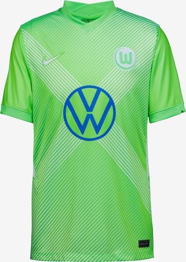NIKE Fußballtrikot 'VFL Wolfsburg 20-21 Heim' in blau / grün / weiß, Produktansicht