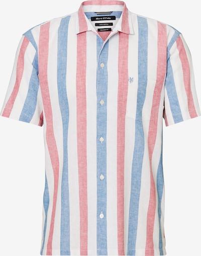 Marc O'Polo Kurzarmhemd in blau / pink / weiß, Produktansicht