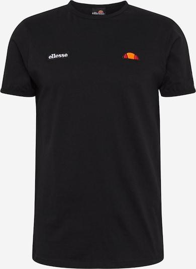 ELLESSE T-Shirt 'FEDORA' in marine / orange / hellrot / schwarz / weiß, Produktansicht