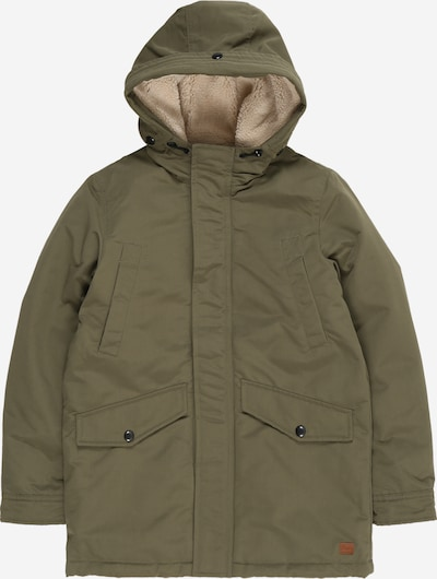 Jack & Jones Junior Parka 'WETLAND' in oliv, Produktansicht