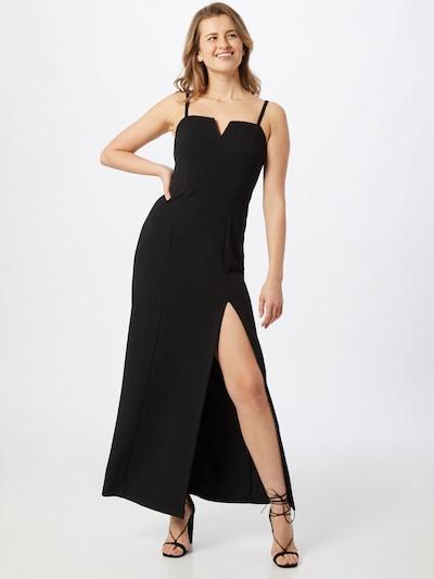 Vakarinė suknelė 'Aurelia' iš ABOUT YOU , spalva - juoda, Modelio vaizdas