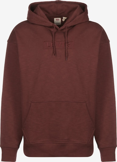 LEVI'S Hoodie ' T2 Relaxed Graphic ' in weinrot, Produktansicht