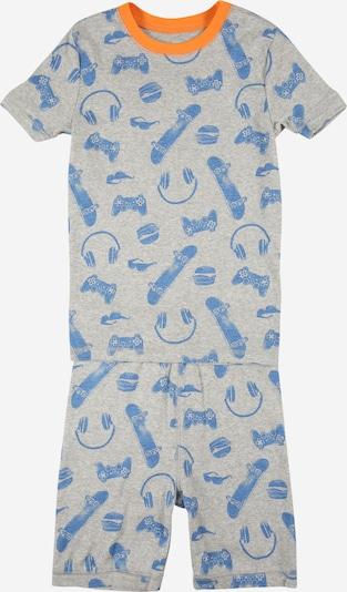Miego kostiumas iš GAP, spalva – šviesiai mėlyna / margai pilka / oranžinė, Prekių apžvalga