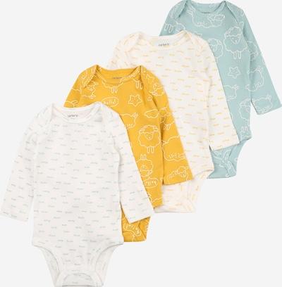Carter's Overall in hellblau / gelb / weiß, Produktansicht