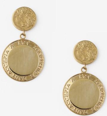 Orelia Øredobber 'Grecian Coin' i gull