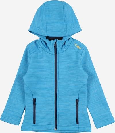 CMP Functionele fleece jas in de kleur Nachtblauw / Aqua, Productweergave