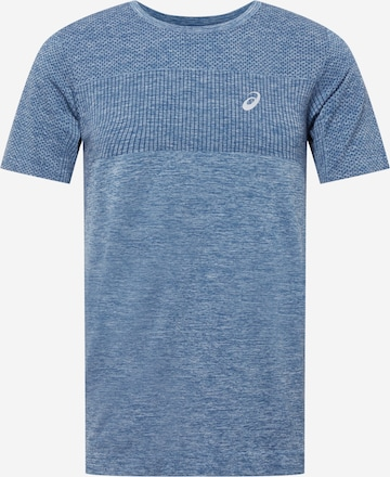 ASICS Sportshirt 'RACE' in Blau