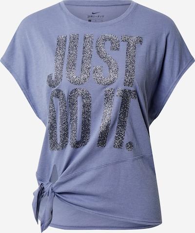 NIKE Sportshirt in taubenblau / schwarz, Produktansicht
