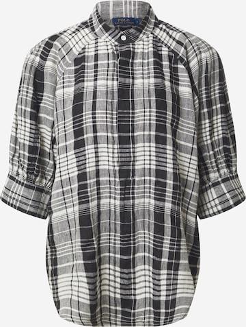 Polo Ralph Lauren Bluse 'CICI' i svart