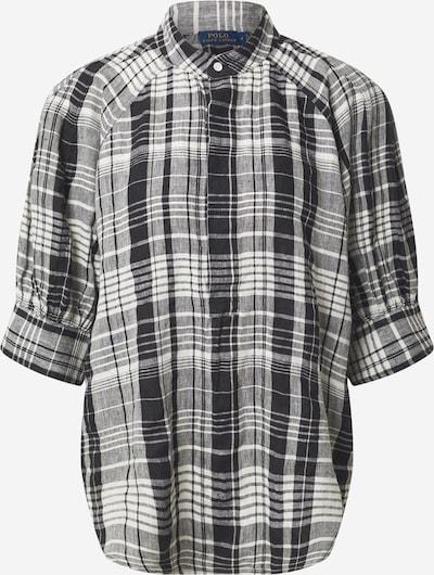 Polo Ralph Lauren Bluse 'CICI' in schwarz / weiß, Produktansicht