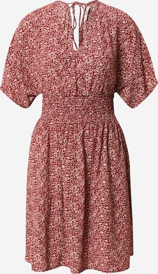 ONLY Kleid 'BELLA' in braun / weiß, Produktansicht