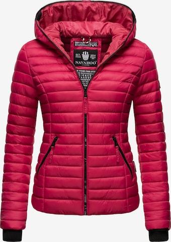 NAVAHOO Between-Season Jacket 'Kimuk' in Pink