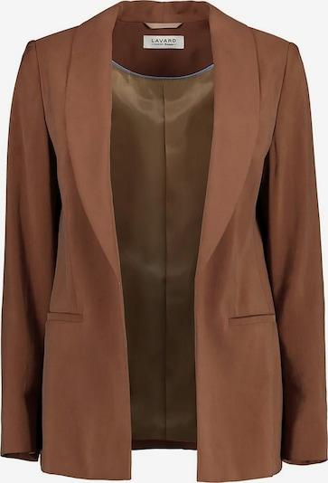 Lavard Blazer braune Damenjacke aus Viskose in braun, Produktansicht