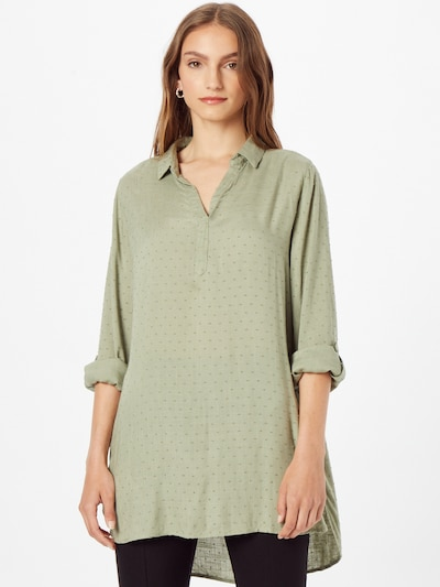 Fransa Bluse 'BAJOY 7' in grün, Modelansicht