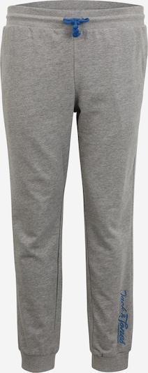 Jack & Jones Plus Hose in blau / graumeliert, Produktansicht