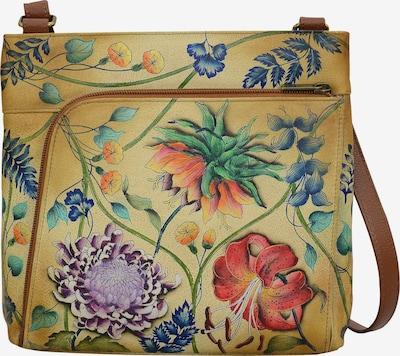 ANUSCHKA Umhängetasche 'Caribbean Garden - Handbemaltes Leder' in mischfarben, Produktansicht