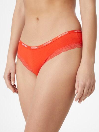 Superdry Spodnje hlačke | marine / roza / svetlo rdeča barva: Frontalni pogled